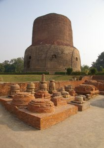 Sarnath where Lord Buddha gave sermon