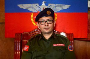 AA leader Brigadier General Tun Myat Naing PHOTO_Htet Khaung Linn & Myanmar Now