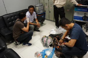 02 Deported Pakistanis getting checked in Yangon airport - Copy
